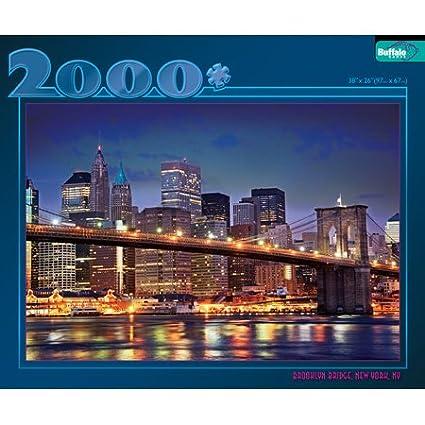 Brooklyn Bridge Jigsaw Puzzle 2000 PC
