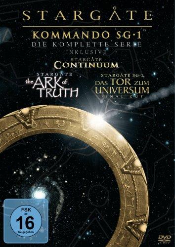Stargate Kommando SG-1 – Die komplette Serie (inkl. Continuum, The Ark of Truth) [61 DVDs]