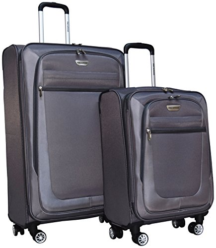 Ricardo Eureka Deluxe Superlight 2 Piece Luggage Spinner Set: 30' and 21' (Red)