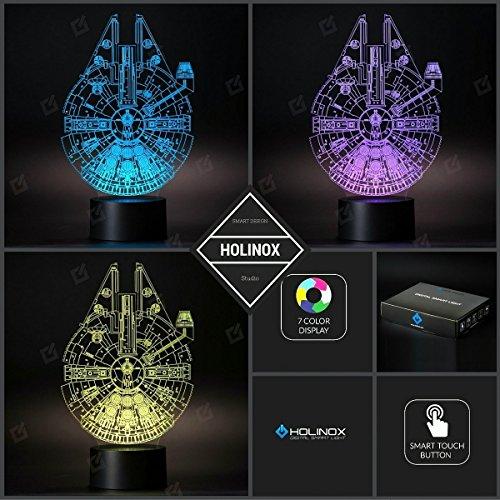 Holinox Star Wars Millennium Falcon Lamp by Holinox (Image #3)