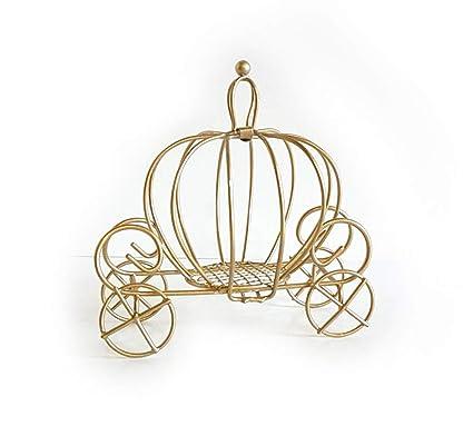 Amazon.com  Small Metal Gold Cinderella Pumpkin Carriage Favor Box ... 5a8f7ca6d