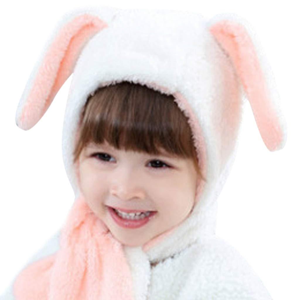 Little Kid Winter Warm Hat,Jchen(TM) Kids Baby Little Boy Girl Cute Cartoon Ear Plush Hat Winter Warm Cartoon Beanie Cap Ear Flap Cap for 0-3 Years Old (G)