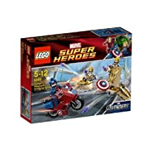 LEGO Super Heroes Captain Americas Avenging Cycle (japan import)