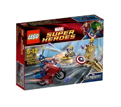 LEGO Captain Americas Avenging Cycle - Figurine Hulk Lego
