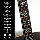 Fretboard Markers Inlay Sticker Decals for Guitar Bass - Tailored Leaves (WS)