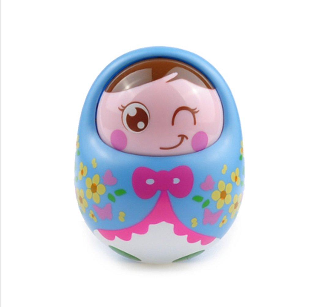 Baby Nodding TumblerおもちゃRoly - Poly幼児用pre-educationおもちゃブルー   B0736MYV1V