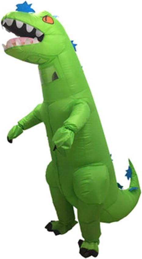 LOVEPET Inflables Disfraz de Halloween Tyrannosaurus Rex Adulto ...