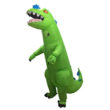 LOVEPET Inflables Disfraz de Halloween Tyrannosaurus Rex ...