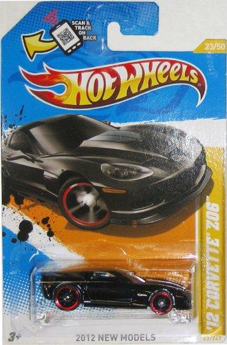 '12 CORVETTE Z06 in Black Hot Wheels 201 - Corvette Z06 Wheels Shopping Results