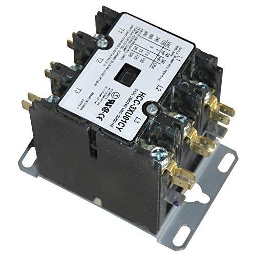 Cleveland KE50750-2 Contactor 3 Pole 25/30A 208/240V For Cleveland Boiler Hatco Booster Hart 441156