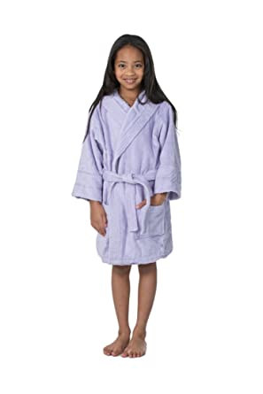 bb66a8067e Amazon.com  THIRSTY Towels Hooded Children s Turkish Terry Robe for Boys  and Girls  Novelty Bathrobes  Clothing