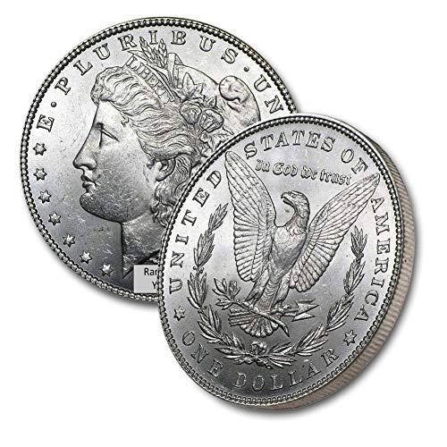 1878-1904 Morgan Silver Dollar (Random Year) $1 Brilliant Uncirculated