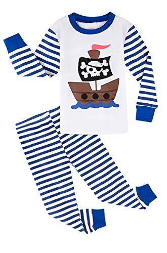 MOMBEBE COSLAND Boys Christmas Pajamas Set Kids Sleepwear