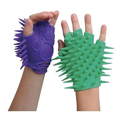 (1) Spikey Soft Glove Visual Sensory Fidget Toy Stimulation Stress Relief Autism ADHD