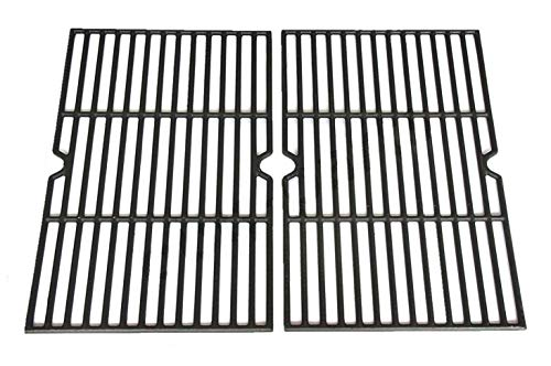 Hongso PCB152 Universal Gas Grill Grate Cast Iron Cooking Grid Replacement, Sold As a Set of ()