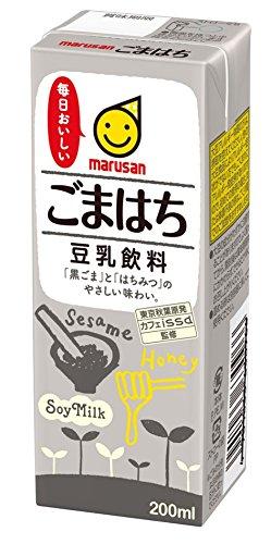 Soymilk drink Gomahachi 200mlx24 by Marusanai