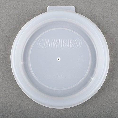 Cambro CLAM8B5190 Disposable Lid fits Aladdin 8 oz. mug or 5 oz bowl - Case of by Cambro Manufacturing