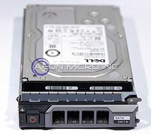 Dell Certified 2 TB 7200 RPM 3.5 inch Enterprise Class Serial ATA (SATA) Hard Drive W/ Tray for PowerEdge Servers. Mfr. P/N: 0VGY1F