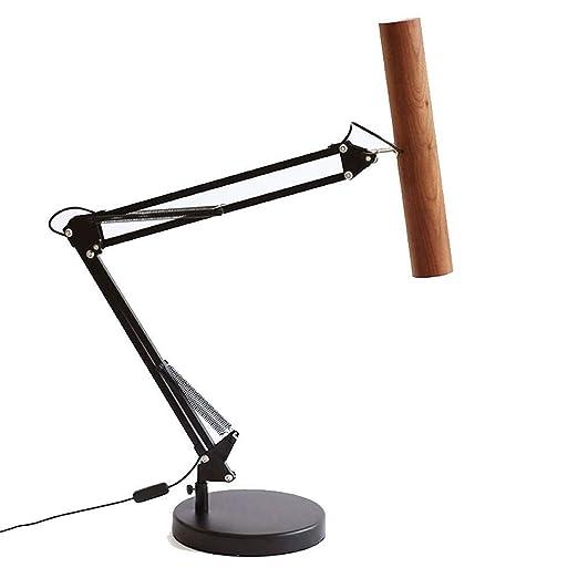 Lámpara de mesa- Lámpara de mesa retráctil Industrial viento ...