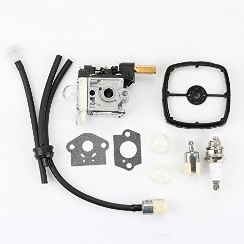Harbot RB-K70 RB-70A Carburetor Air Fuel Filter+Spark Plug+ Gasket Tune Up Kit for ECHO GT200 GT201i HC150 HC151 PE200 PE201 PPF210 PPF211 SRM210 SRM211 String Trimmer Brushcutter A021000721