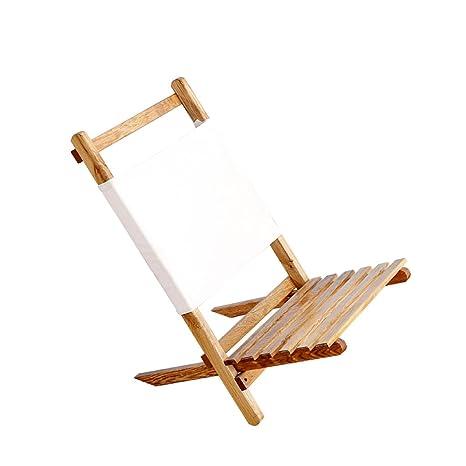 XIAOLVSHANGHANG HHCS Silla Plegable al Aire Libre Silla de ...