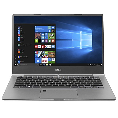 LG gram 13Z970 i5 13.3' Touchscreen Laptop with Fingerprint ID (2017 -Dark Silver)