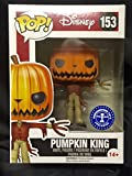 FUNKO Pop! Disney Pumpkin King #153 Hot Topic Exclusive Glows In The Dark / Nightmare Before Christmas Vinyl Figure by FunKo