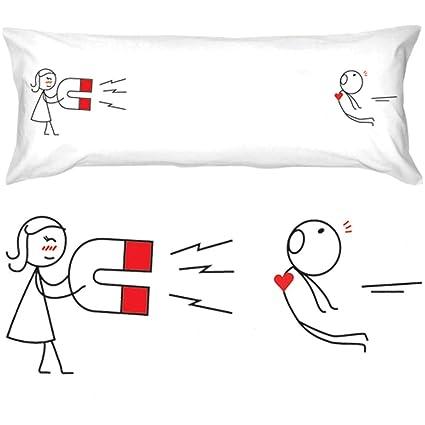 BoldLoft Youre Irresistible Body Pillowcase Boyfriend Gifts Husband Funny Valentines