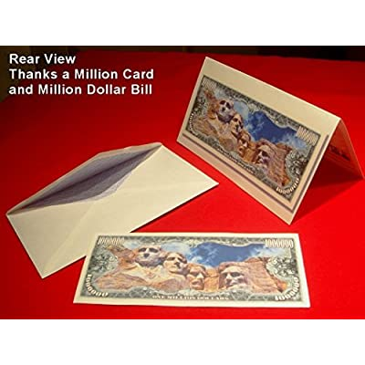 """Prince Million Dollar Bill with Bonus """"Thanks a Million"""" Gift Card Set and Clear Protector: Everything Else"""