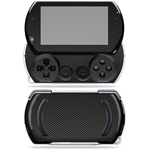 Sony PSP Go – Carbon Fiber | Protective, Durable, and Unique Vinyl Decal wrap cover | Easy To Apply, Remove, and Change Styles | Made in the USA ()