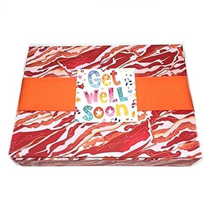 Di que con caja de regalo de Bacon (9 piezas) con tarjeta ...