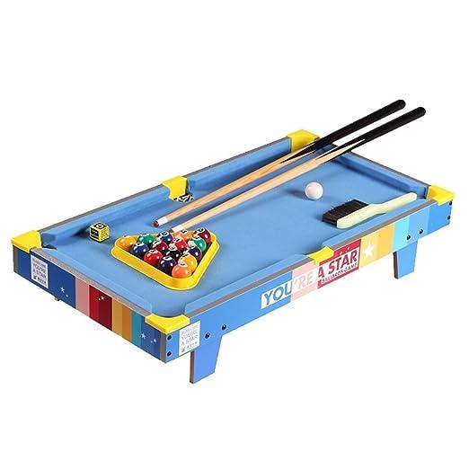 WJMLS 4-en-1 Mesa de Juegos para niños Actividad en el Interior ...
