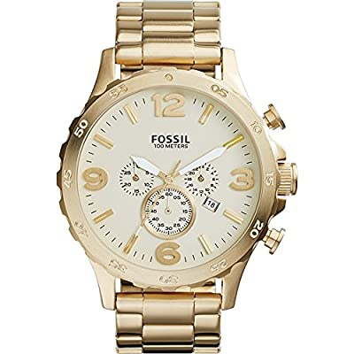 Fossil Nate Chronograph Stainless Steel Watch from Fossil
