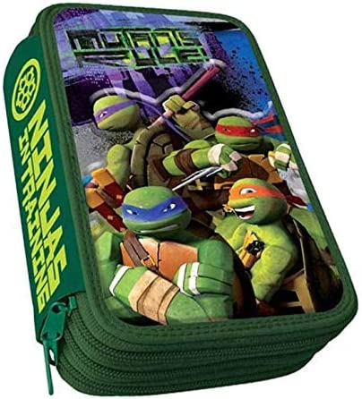Plumier 3D Tortugas Ninja Attack triple: Amazon.es: Equipaje