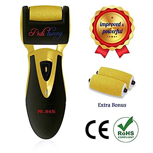 70 % OFF - puissant Rechargeable électrique Callus Remover-pied fichier pour lavage des pieds, soin des pieds Pedi-Micro outil-efficacement mordus loin peau morte, dure, calleux des pieds secs et talons fendillés