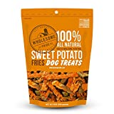 Wholesome Pride Pet Treats Sweet Potato Fries Dog Treats - 16oz - Grain Free, All Natural, Vegetarian, Made in the USA