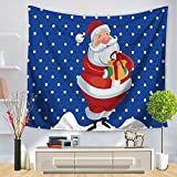 Weiliru Party Tapestry Wall Hanging for Kids Bedroom Living Room Dorm Party Wall Decor Sand Brown Black,150×130cm