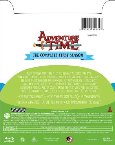 Amazon com: Adventure Time: Season 1 [Blu-ray]: Jeremy Shada