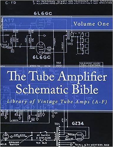 The Tube Amplifier Schematic Bible Volume 1: Library of Vintage Tube Amps  (A-F) (Manufacturers A-F): Gambino, Salvatore: 9781500447366: Amazon.com:  Books | Tube Amp Schematics |  | Amazon.com