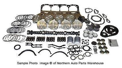 Amazon com: Jeep, AMC 304 70-78 Master Engine Overhaul Kit