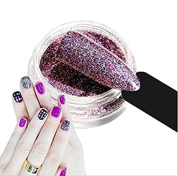 Amazon Com Cattie Girl 1g Holographic Laser Rainbow Powder