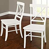 Target Marketing Systems 75118WHT PR Albury Set of 2 Dining Chairs, White