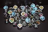 Geocache Mini Glass Trading Stones - 15 Pcs Hunger Games Set