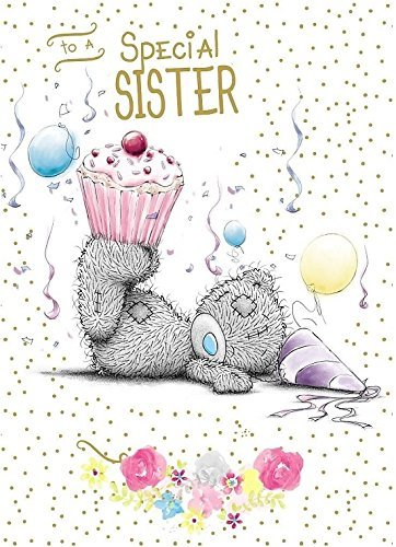 Amazon Me To You To A Special Sister Happy Birthday Card Bear