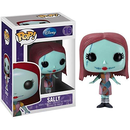 Sally: The Nightmare Before Christmas x Funko POP! Vinyl Figure & 1 POP! Compatible PET Plastic Graphical Protector Bundle [#016 / 02469 - -