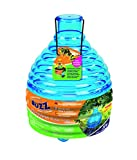 The Buzz Honeypot Wasp Trap with Bait, Lightweight, Strong ABS Plastic, Effective Insect Attractant with Twist on Bait Section, Covers up to 10 m Radius - Multi-Colour (Pack of 1)