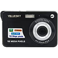 YBLUESKY DC-530I 18MP 2.7-Inch 720P LCD Screen Digital Camera (Black)