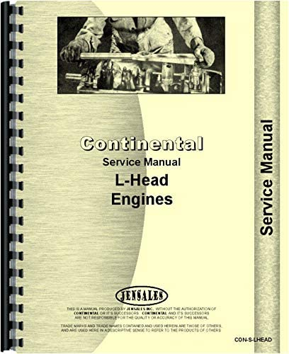 GT-30 Crawler Engine Only Continental F-124 Service Manual ...