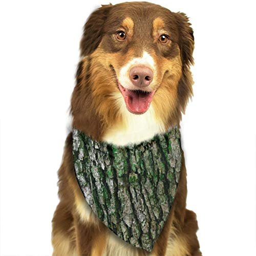 (OURFASHION Old Wood is History Bandana Triangle Bibs Scarfs Accessories Pet Cats Puppies.Size is About 27.6x11.8 Inches)