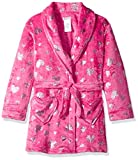 Komar Kids Girls' Big Velvet Fleece Plush Robe